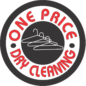 ONE PRICE DRY CLEANING logo